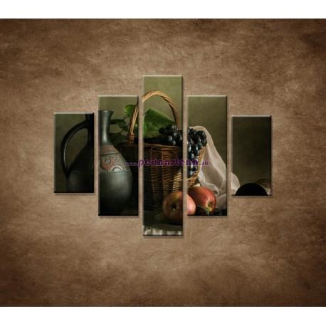 Obrazy na stenu - Zátišie - 5dielny 100x80cm