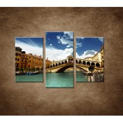 Benátky - 3dielny 75x50cm
