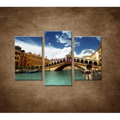 Obrazy na stenu - Benátky - 3dielny 75x50cm