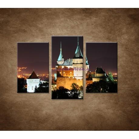 Obrazy na stenu - Bojnický zámok - 3dielny 75x50cm