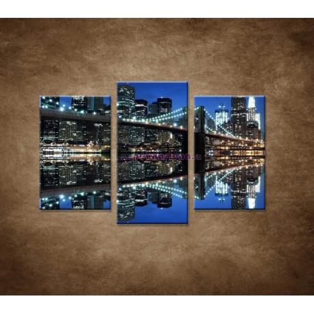 Obrazy na stenu - Brooklyn - 3dielny 75x50cm