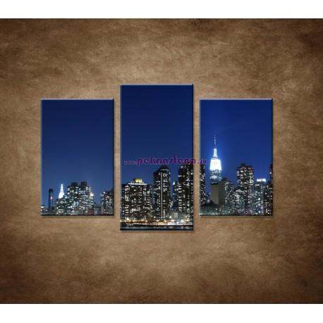 Obrazy na stenu - Manhattan - 3dielny 75x50cm