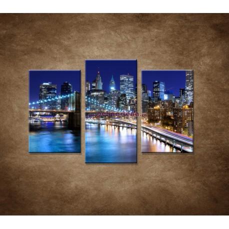 Obrazy na stenu - New York - 3dielny 75x50cm