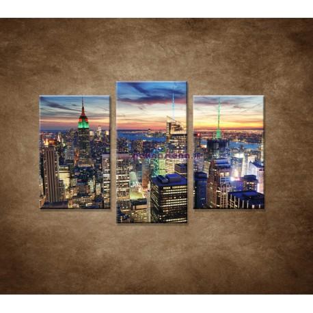 Obrazy na stenu - New York City - 3dielny 75x50cm