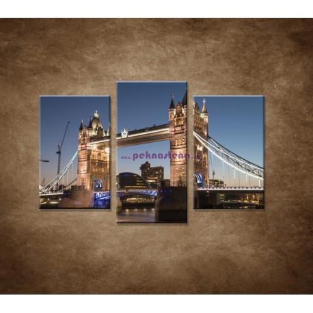 Obrazy na stenu - Tower Bridge - 3dielny 75x50cm