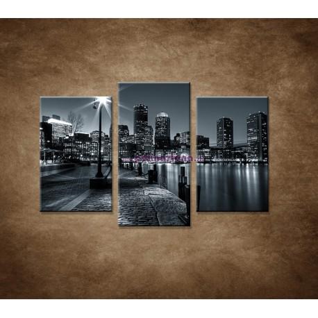 Obrazy na stenu - Boston - 3dielny 75x50cm
