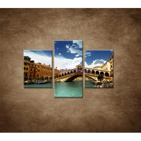 Obrazy na stenu - Benátky  - 3dielny 90x60cm