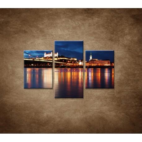Obrazy na stenu - Bratislava  - 3dielny 90x60cm