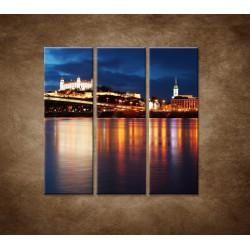Obrazy na stenu - Bratislava - 3dielny 90x90cm