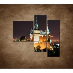 Obrazy na stenu - Bojnický zámok - 3dielny 110x90cm