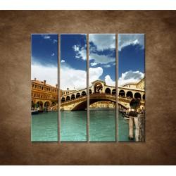 Benátky - 4dielny 120x120cm