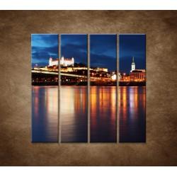 Bratislava - 4dielny 120x120cm