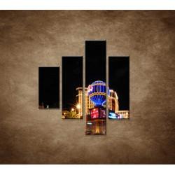 Obrazy na stenu - Las Vegas - 4dielny 80x90cm