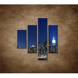 Obrazy na stenu - Manhattan - 4dielny 80x90cm