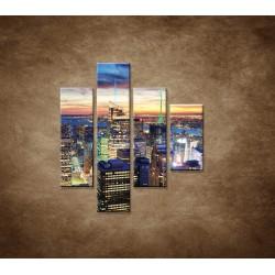 Obrazy na stenu - New York City - 4dielny 80x90cm