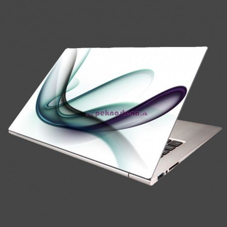 Nálepka na notebook - Elegantná špirála