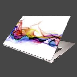Nálepka na notebook - Farebný dym