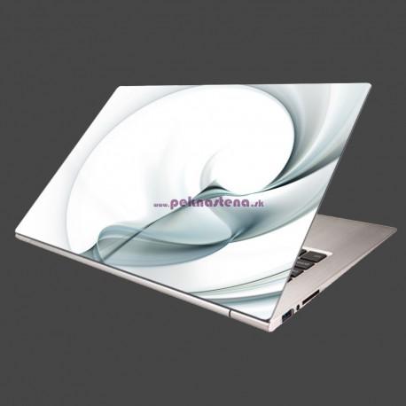 Nálepka na notebook - Modré pozadie