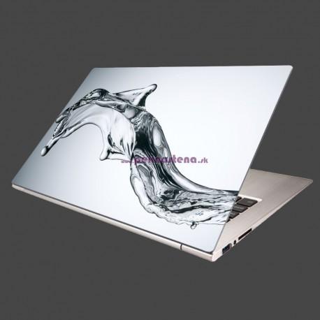Nálepka na notebook - Tečúca voda