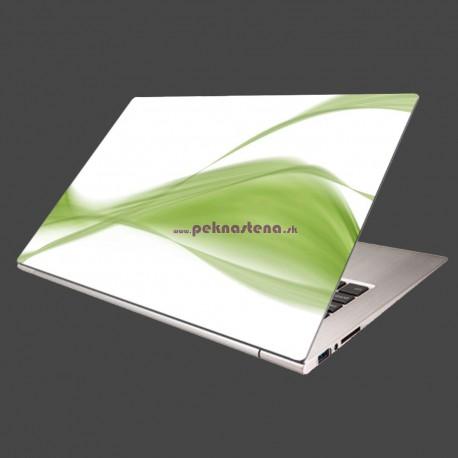 Nálepka na notebook - Zelený dym