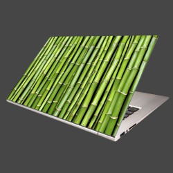 Nálepka na notebook - Bambus