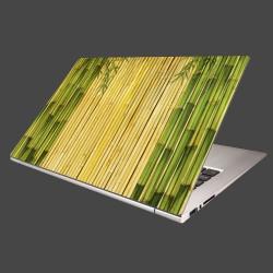 Nálepka na notebook - Bambusové stonky