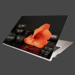 Nálepka na notebook - Gladiól a kamene