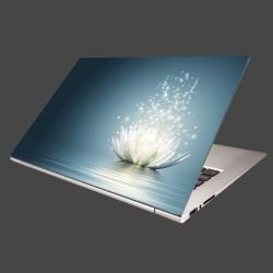 Nálepka na notebook - Lekno na vode
