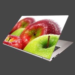 Nálepka na notebook - Červené a zelené jablká