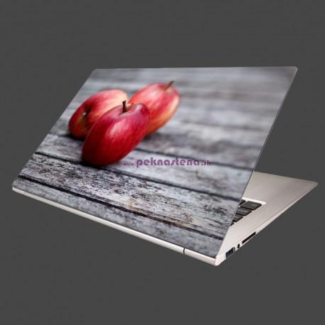 Nálepka na notebook - Červené jablká