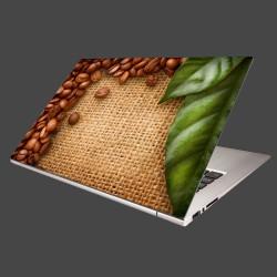 Nálepka na notebook - Kávové zátišie