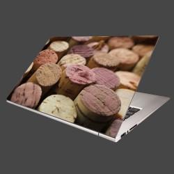 Nálepka na notebook - Korky od vína