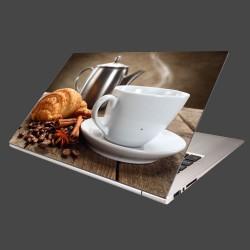 Nálepka na notebook - Raňajky