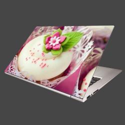 Nálepka na notebook - Svadobný koláčik