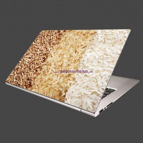 Nálepka na notebook - Tri druhy ryže