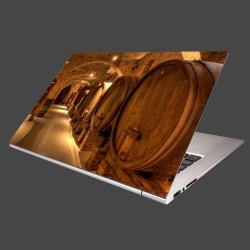 Nálepka na notebook - Vinárska pivnica