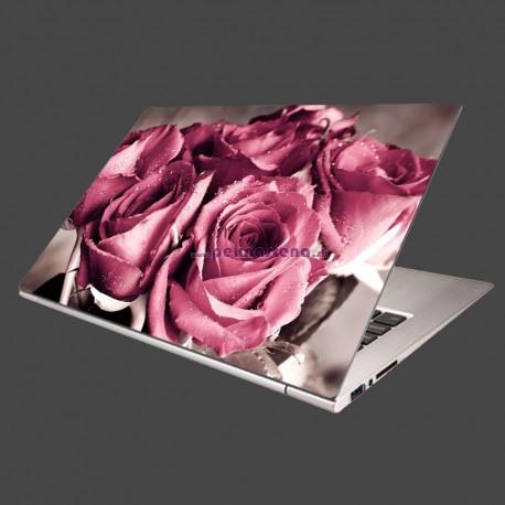 Nálepka na notebook - Kytica ruží