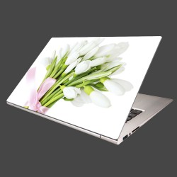 Nálepka na notebook - Snežienky