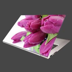 Nálepka na notebook - Tulipány