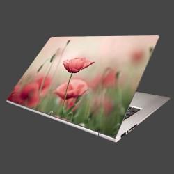Nálepka na notebook - Vlčie maky