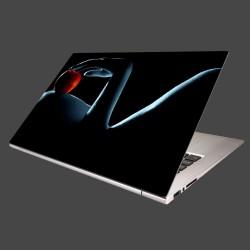 Nálepka na notebook - Žena s jablkom
