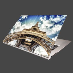 Nálepka na notebook - Eifelova veža zdola