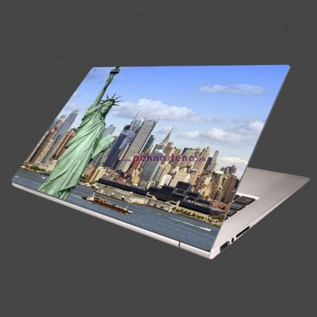 Nálepka na notebook - New York - panoráma