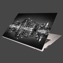 Nálepka na notebook - New York v noci