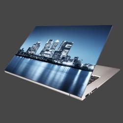 Nálepka na notebook - Nočné mesto