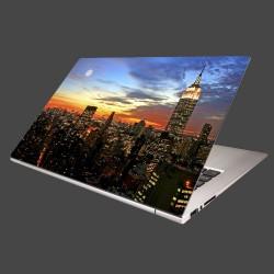 Nálepka na notebook - Nočný New York