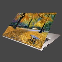 Nálepka na notebook - Bostonský park