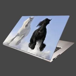 Nálepka na notebook - Párik koní