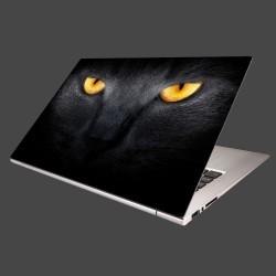 Nálepka na notebook - Temný pohľad