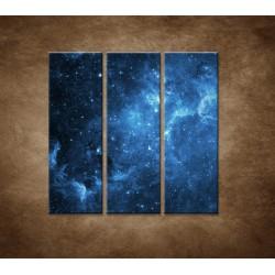 Obrazy na stenu - Galaxia - 3dielny 90x90cm